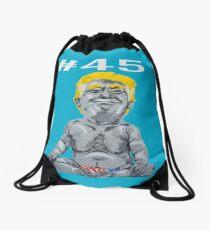 #45 President Trump Drawstring Bag