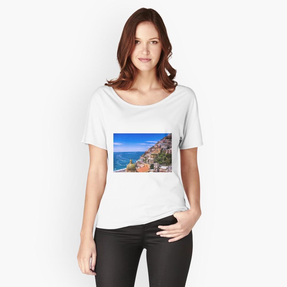 Liebe von Positano Italien Loose Fit T-Shirt