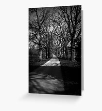 Castle Drive Greeting Card