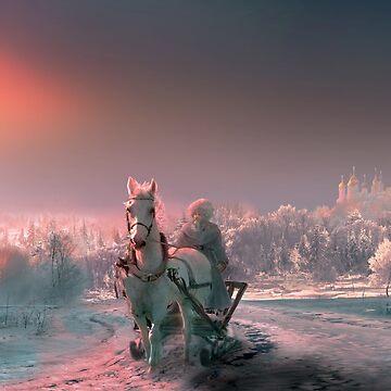 Russian Winter by izenin