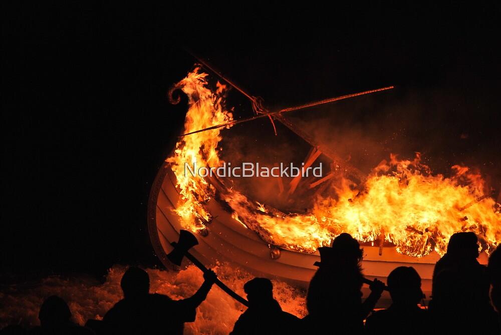 she burns... she burns... by NordicBlackbird
