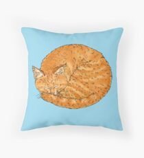 Ginger snaps, Ginger naps. Throw Pillow