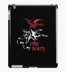 I AM FIRE... I AM DEATH. iPad Case/Skin