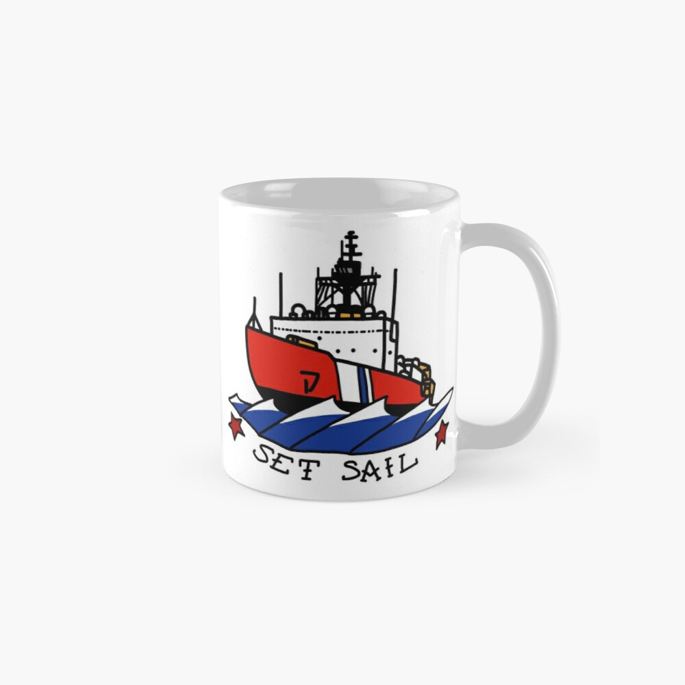 Coast Guard Polar Set Sail Mug