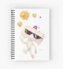 Hexahedrons Spiral Notebook