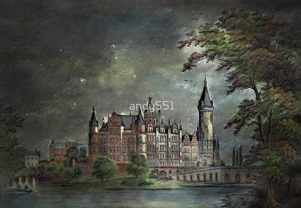 Schwerin Castle 1900 by andy551