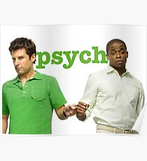 Psych- Fist Bump Poster