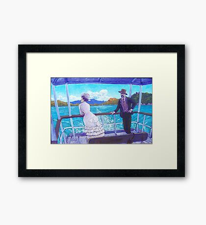 A Sunday Outing Framed Print