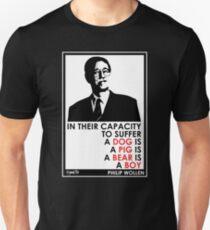 VeganChic ~ Philip Wollen Inspire Slim Fit T-Shirt