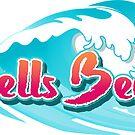 Bells Beach Wave Brush Typo by divotomezove