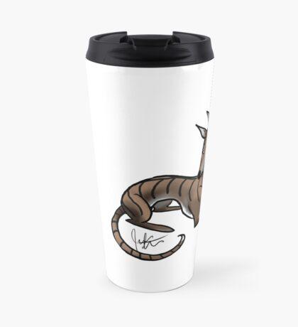 Greyhound - Dark Brindle Travel Mug