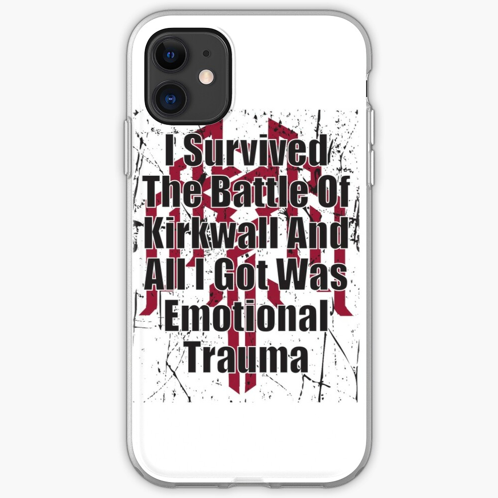 I Survived the Battle of Kirkwall iPhone Case & Cover