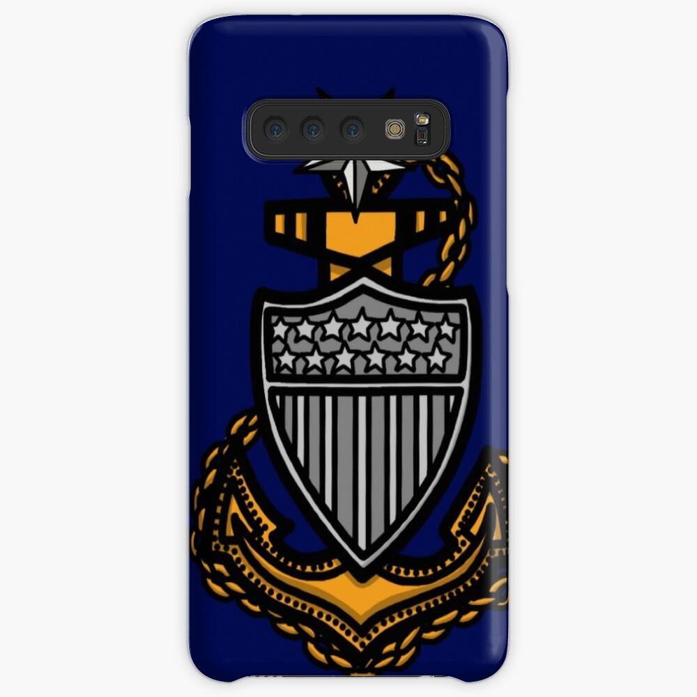 Coast Guard Senior Chief Petty Officer Anchor Case & Skin for Samsung Galaxy
