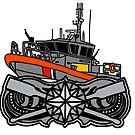 Coast Guard 45 RB-M Coxswain  by AlwaysReadyCltv