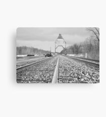 Railway Canvas Print
