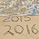 New Year Beach 2016 by Maria Dryfhout