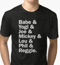 New York Yankee Legends - LIMITED Tri-blend T-Shirt