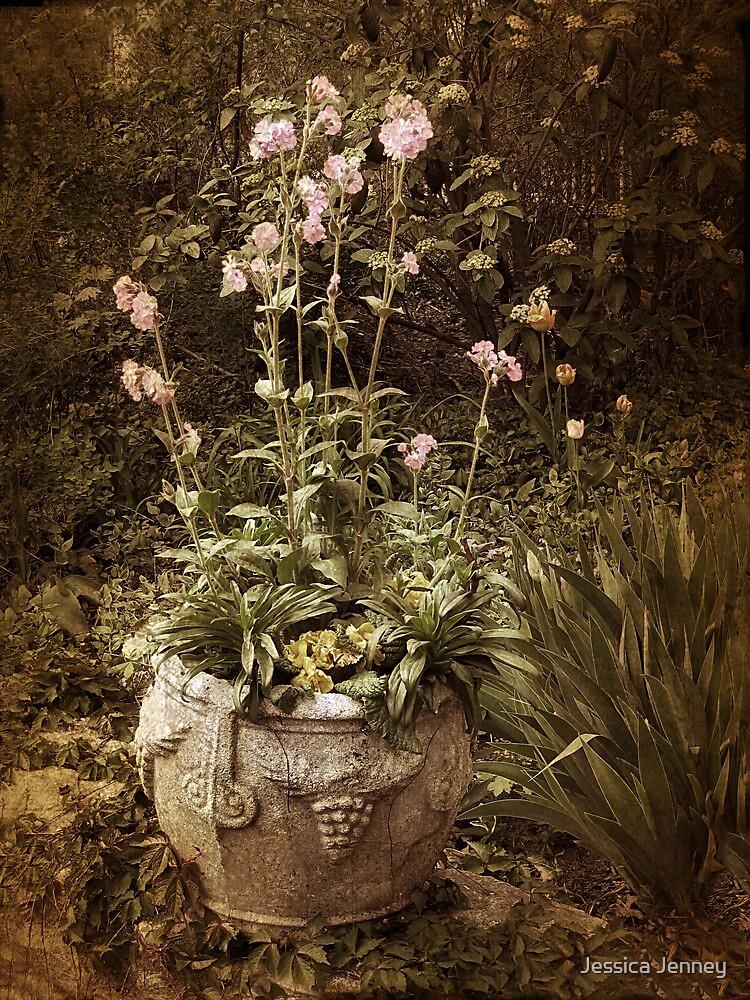 Vintage Planter by Jessica Jenney