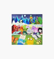 Time Adventure Art Board Print
