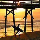 Surfer Silhouette by JGetsinger