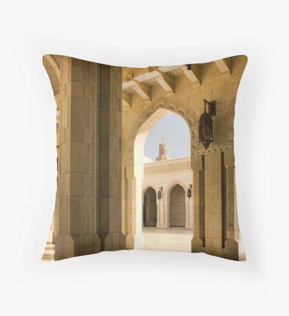 Grand Mosque, Oman Throw Pillow