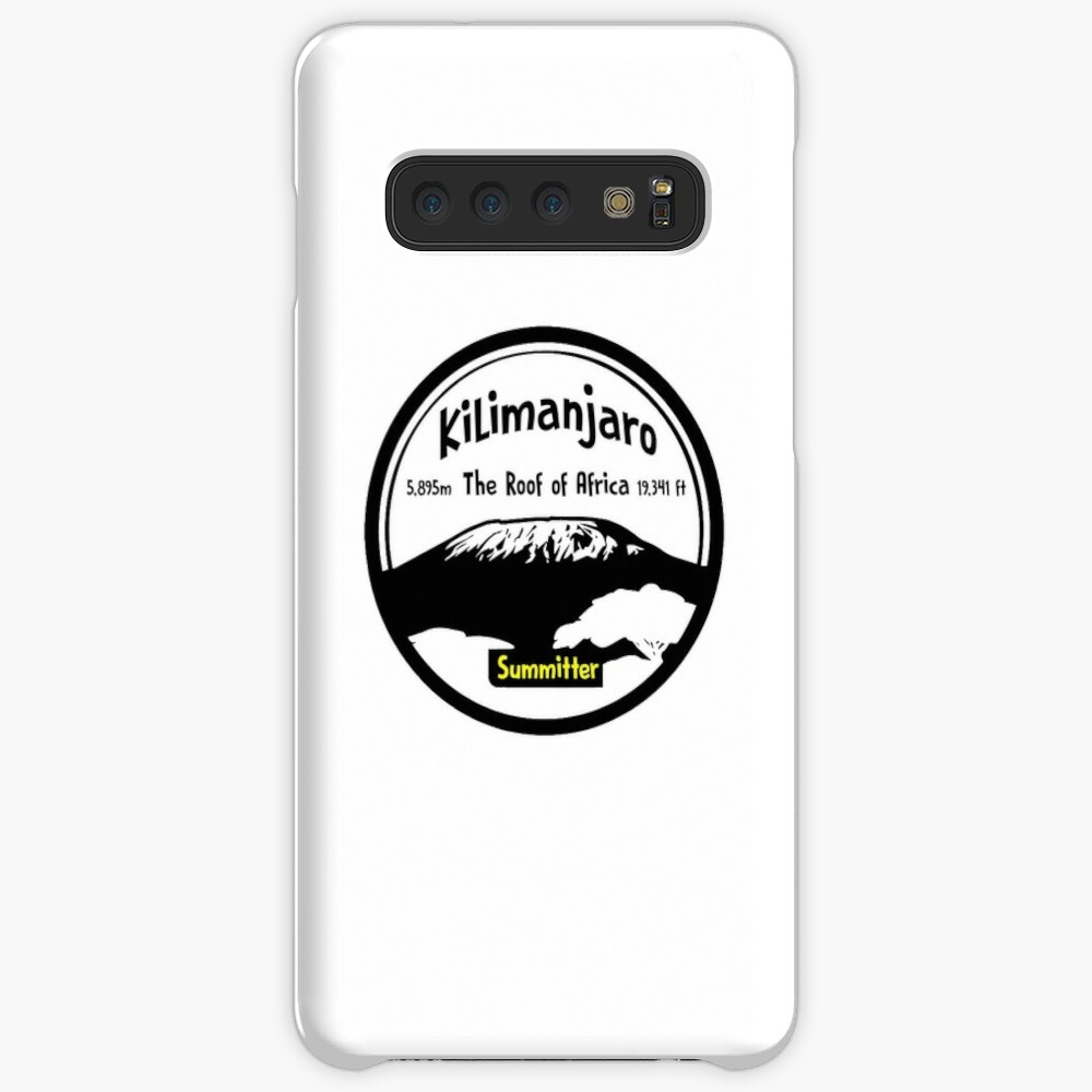 Kilimanjaro Summitter - The Roof of Africa Case & Skin for Samsung Galaxy