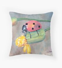 Lady Bug, Lady Bug... Throw Pillow
