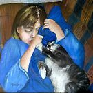 """Kelly and Her """"Softie"""" by Marita McVeigh"""