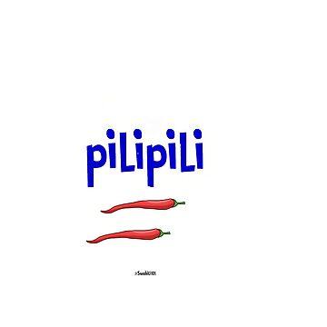 Pili Pili: Red Hot CHili Pepper in Swahili by Swahili101