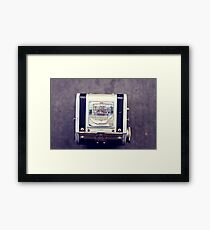 tacoma . through the viewfinder Framed Print