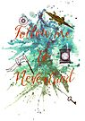 Follow me to Neverland by Sybille Sterk