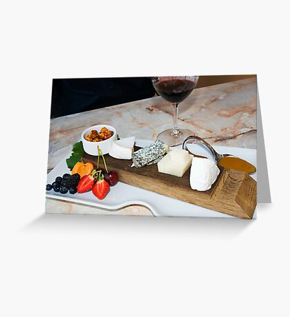 Wine & Cheese Greeting Card