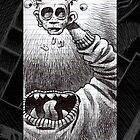 Head Puppet by Mike Cressy