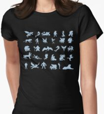 Mythological Creatures Womens Fitted T-Shirt