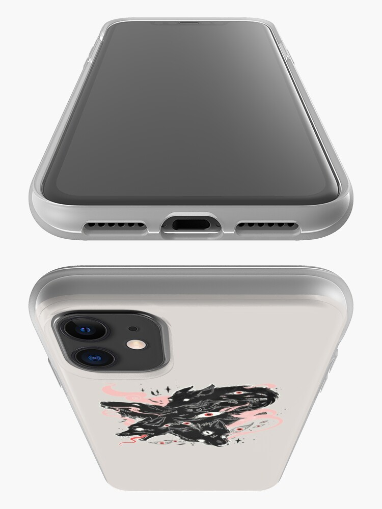 Alternate view of Wild Wolves With Many Eyes iPhone Case & Cover
