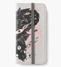 Wild Wolves With Many Eyes iPhone Wallet/Case/Skin