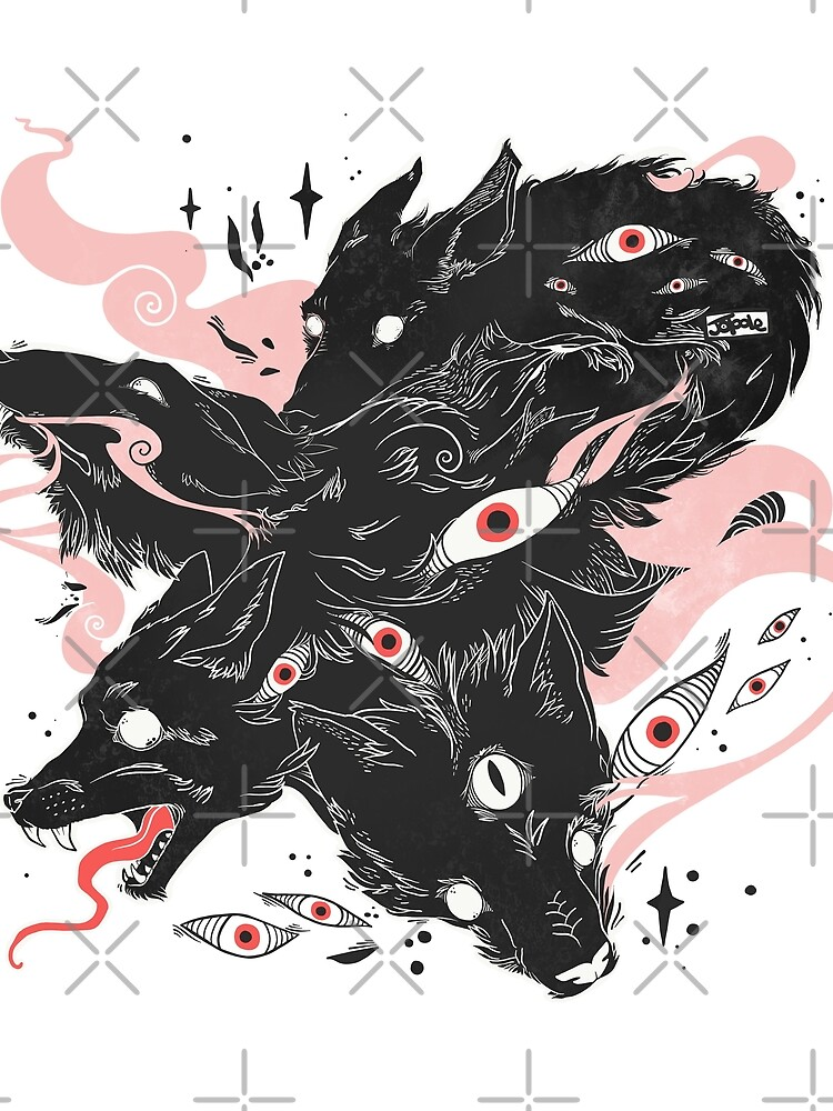 Wild Wolves With Many Eyes by cellsdividing