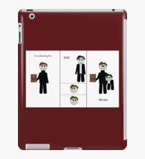 Chibi Charles and Possessive Erik by AaliaKnife iPad Case/Skin