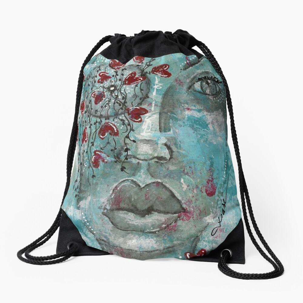 Come Thru 3 Drawstring Bag Front