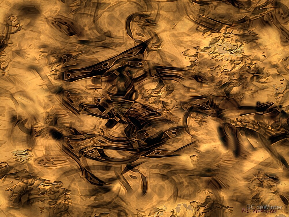 Cave Painting by RC deWinter