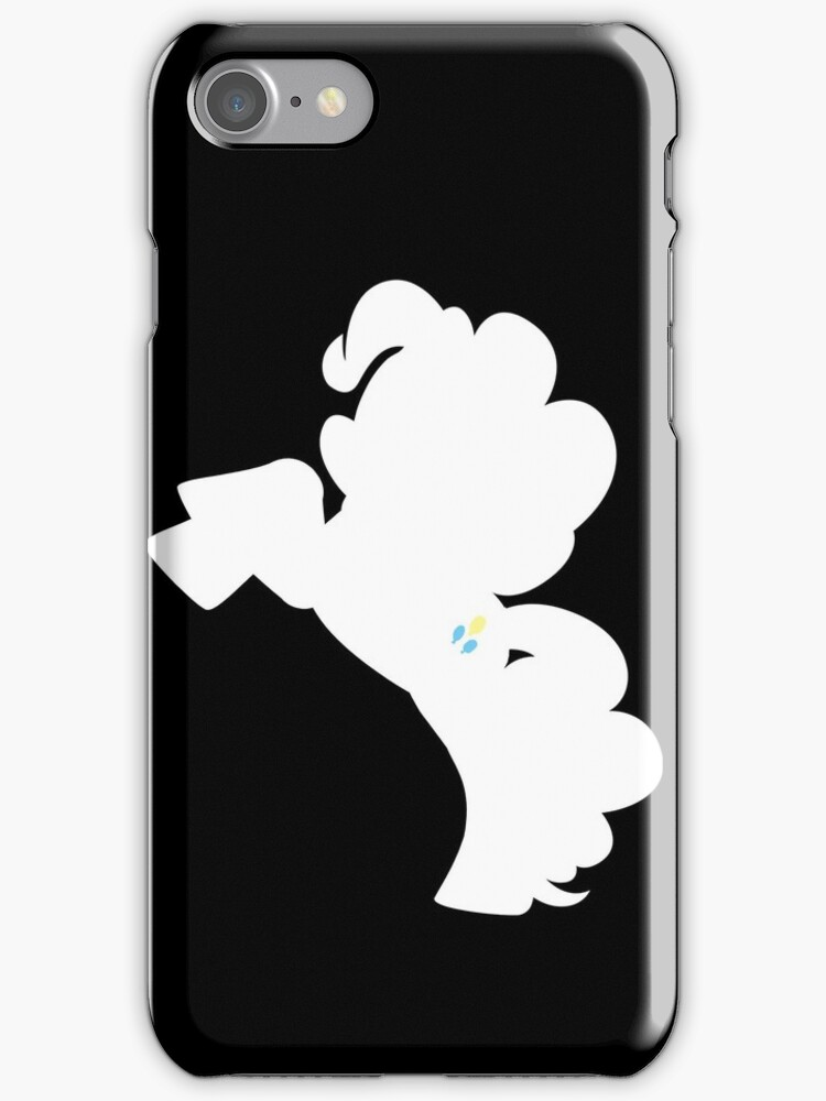 Pinkie Pie silhouette reversed by Ghretto