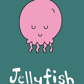 J for Jellyfish by gillianjaplit
