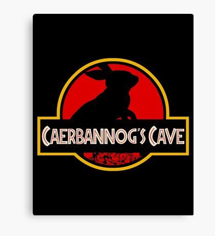Caerbannog's Cave. Canvas Print
