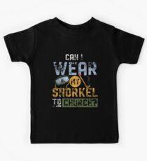 Schnorchel Liebhaber  Kinder T-Shirt