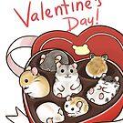 Happy Valentine's card by pawlove