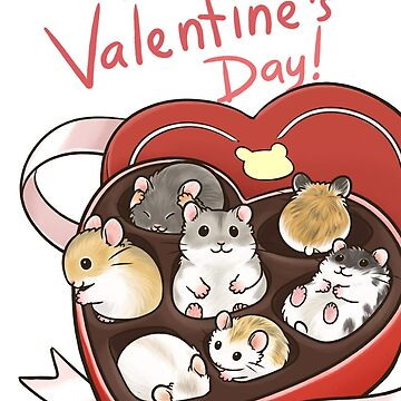 Feliz tarjeta de san valentín de pawlove