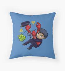 aomine - cray cray for crayfish Throw Pillow
