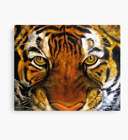 Tiger Original oil painting Canvas Print