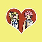 Lucy and Natsu - shipping dolls by RainytaleStudio