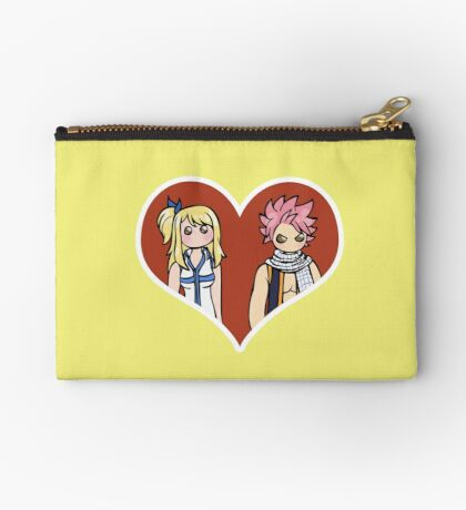 Lucy and Natsu - shipping dolls Zipper Pouch
